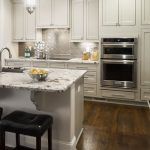 Splendor White Granite with Haas Urban Dream Inset Cabinets