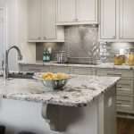 Splendor White Granite with Haas Urban Dream Inset Cabinets